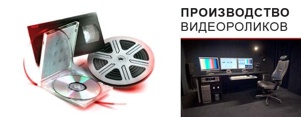 Прайс лист на производство видеороликов