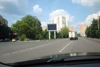 Прайс лист экраны в Подмосковных городах