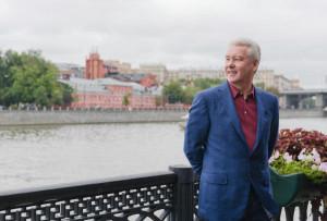 С.Собянин ознакомился с ходом благоустройства Воробьевской набережной
